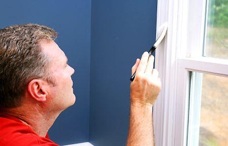 Как добиться идеальной поверхности при окрашивании деревянных окон