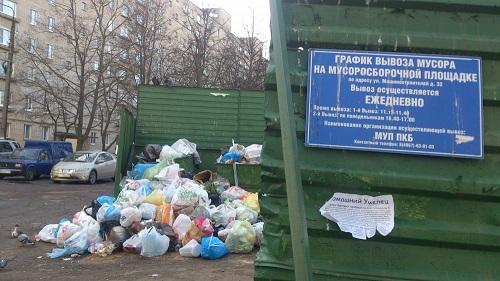 Что нужно для вывоза мусора с территории предприятия?