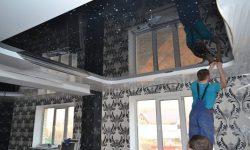 Особенности применения натяжных потолков
