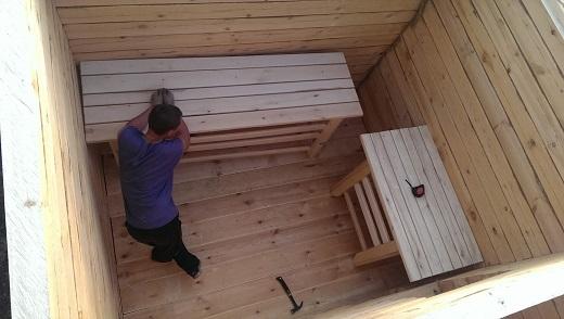 Собираемся строить баню: что нужно для внутренней отделки?