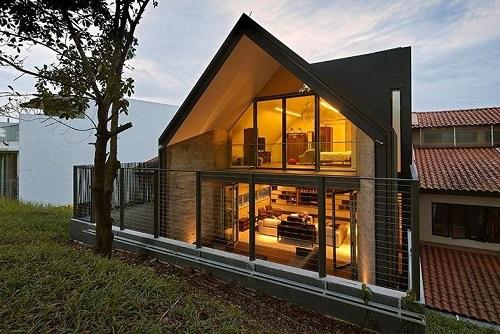 Современная защита оконных проемов для загородной резиденции